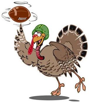 Turkey clipart football #6
