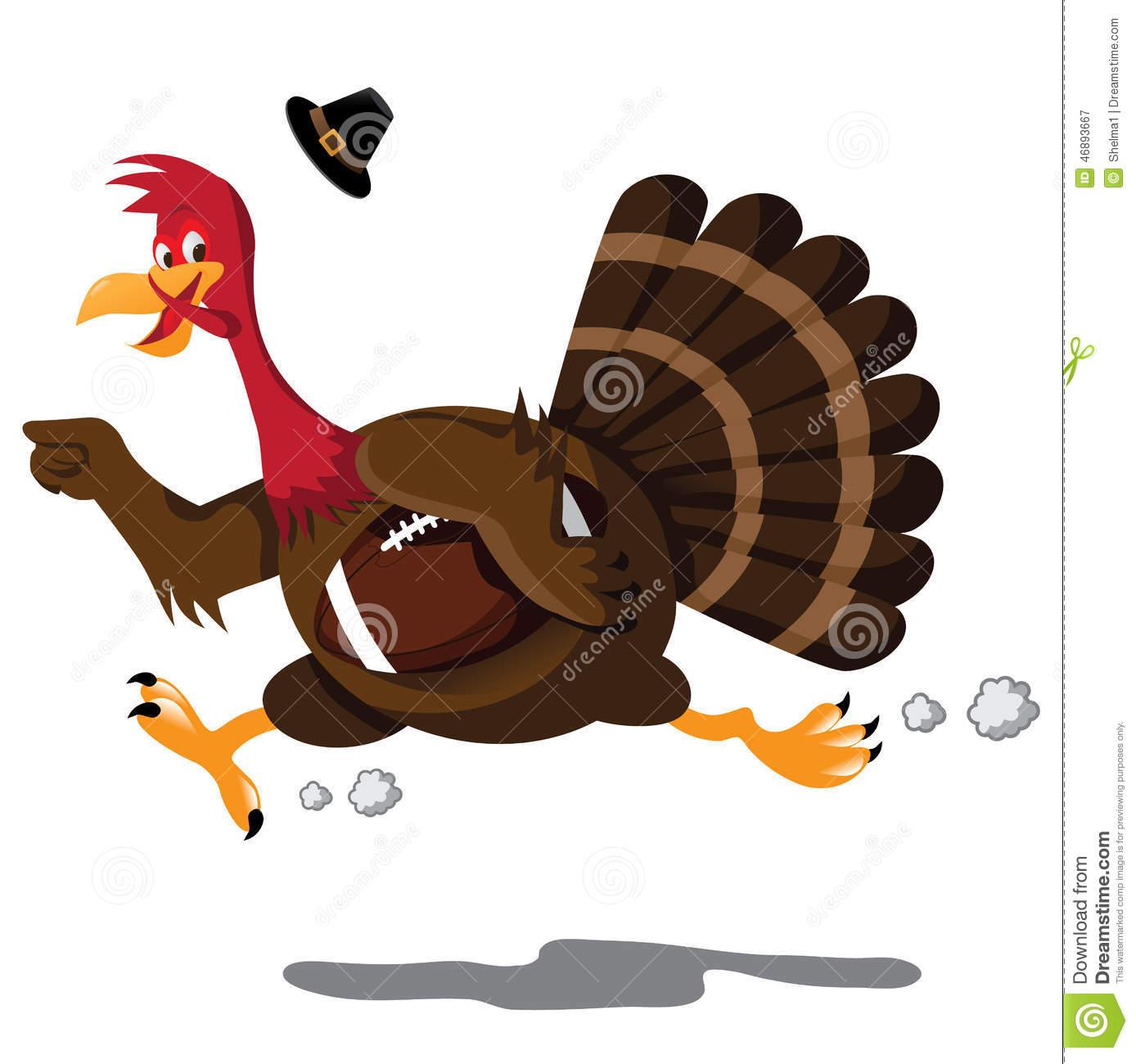 Turkey clipart football #9