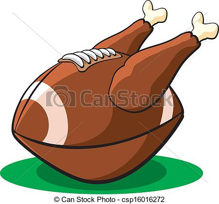Turkey clipart football #5