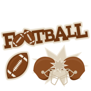 Football clipart things Files cute cut art clipart