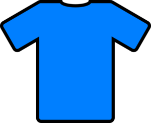 Football clipart tshirt Vector clip Clip Clip Blue
