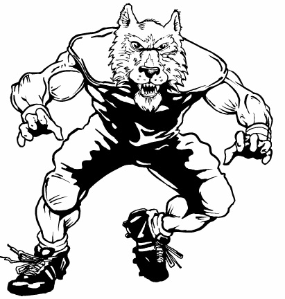Football clipart wolf WOLVES  Inc Ink