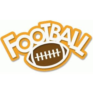 Word clipart fun Football art Graphics Pinterest word