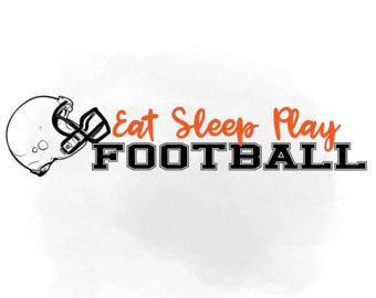 Football clipart word #9