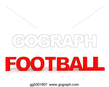 Football clipart word #14
