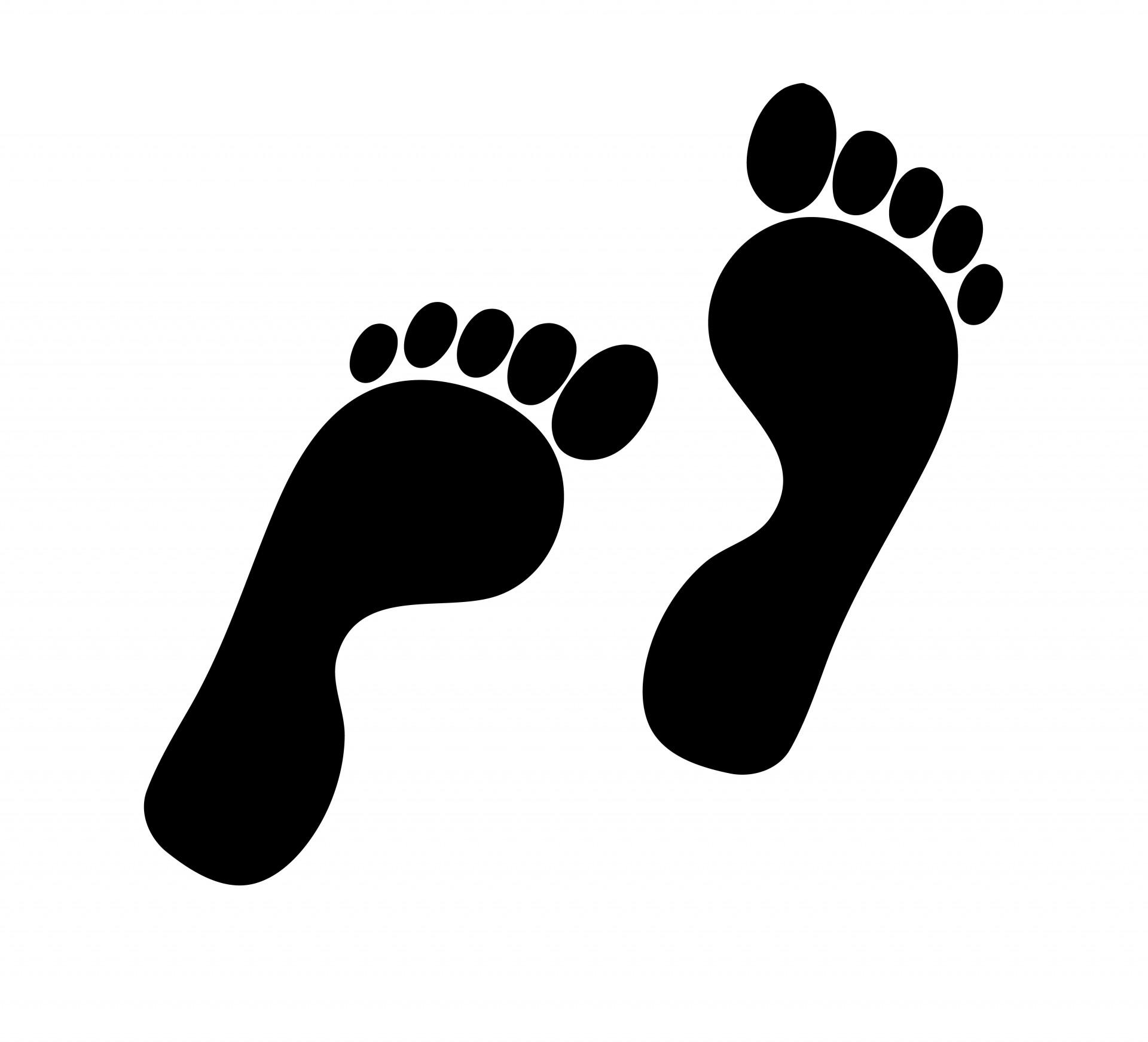 Footprint clipart Footprints Clip clipart ClipartMonk Images