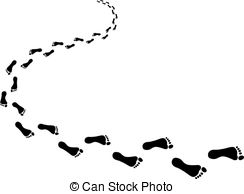 Barefoot clipart footstep Illustrations Clip Clipart 14 Footprints