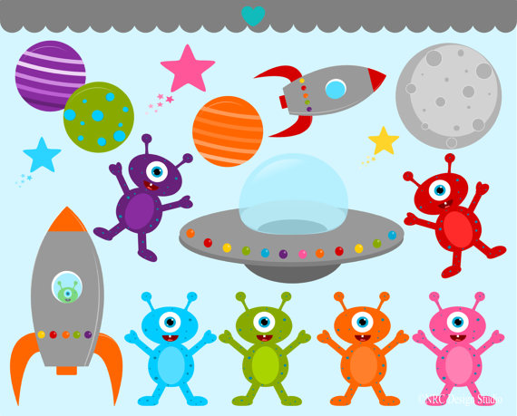 Footprint clipart alien Clip Clip Art BIRTHDAY SALE