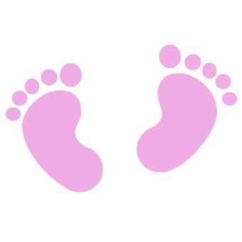 Footprint clipart baby shower Shower diy Google Tiernos images