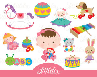 Baby clipart baby toy Toys Toy baby girl toys