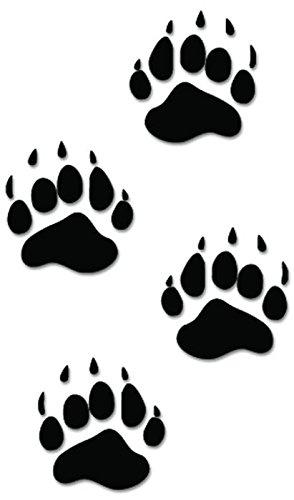 Paw clipart black bear Decal Hunting Print com: Black