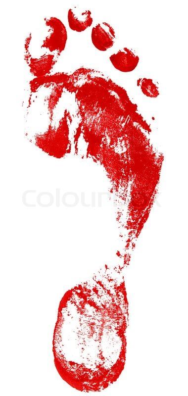 Footprint clipart bloody 15 Photos Footprints Bloody Footprints