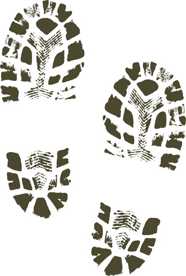 Footprint clipart boot Shoe Boots Art Shoes Clip