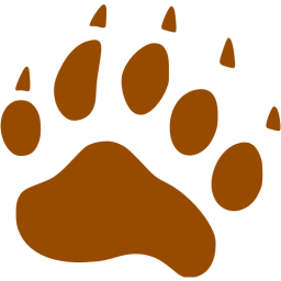 Footprint clipart brown Icon icons footprints Free footprints