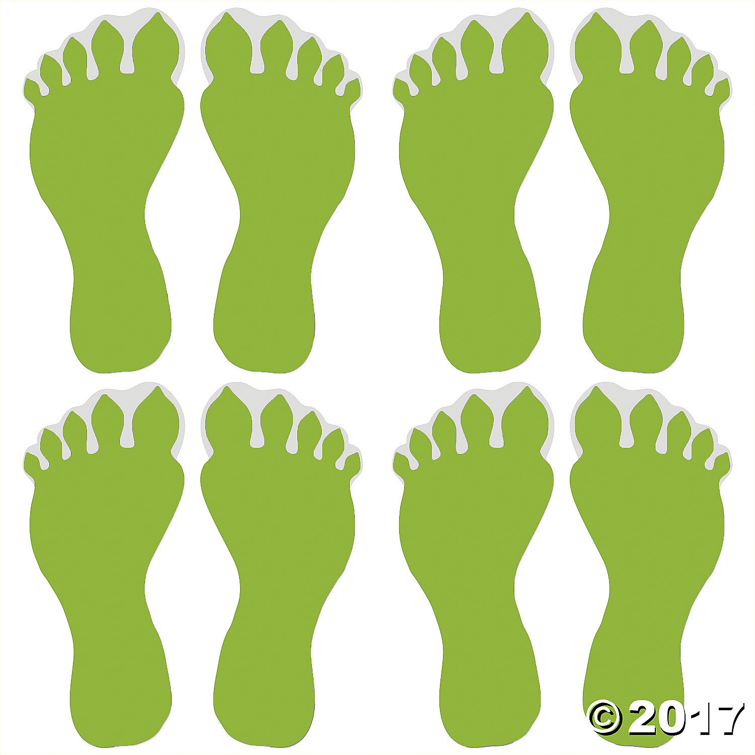 Footprint clipart floor Image Responsive Glow Footprint the