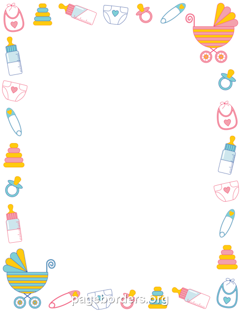 Child clipart boarder Download  clipart Footprint Cliparts