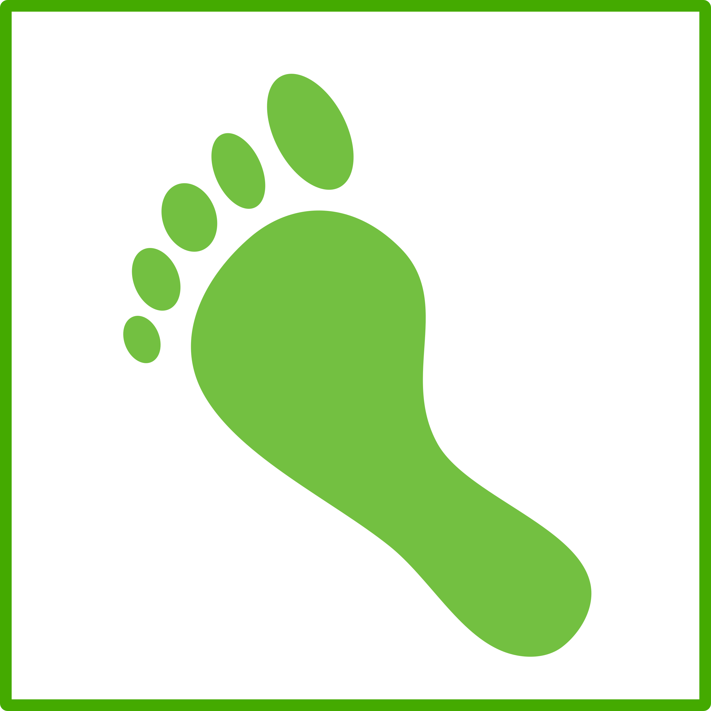 Footprint clipart icon By footprint icon eco eco
