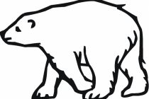 Footprint clipart polar bear 22 Head Bear Polar Impressive