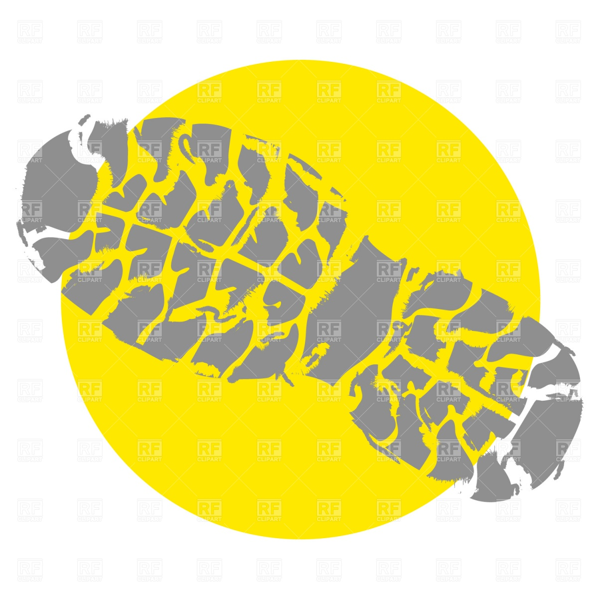 Footprint clipart shoe sole Shoe Clipart Running Collection Track