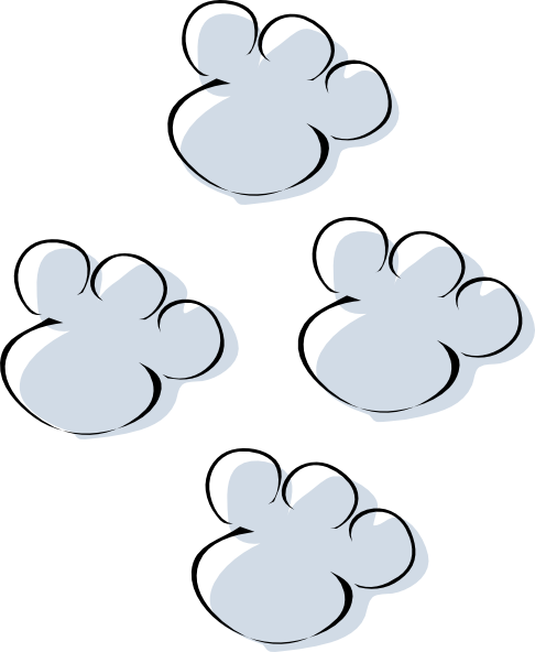 Paw clipart elephant As: at Clip image Art