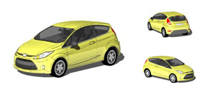 Ford clipart ford fiesta Mockups clipart Photo 3D mr