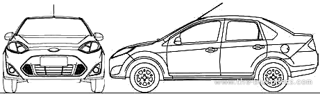 Ford clipart ford fiesta #13