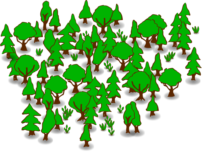 Forest clipart Clipart Images Art Panda Forest