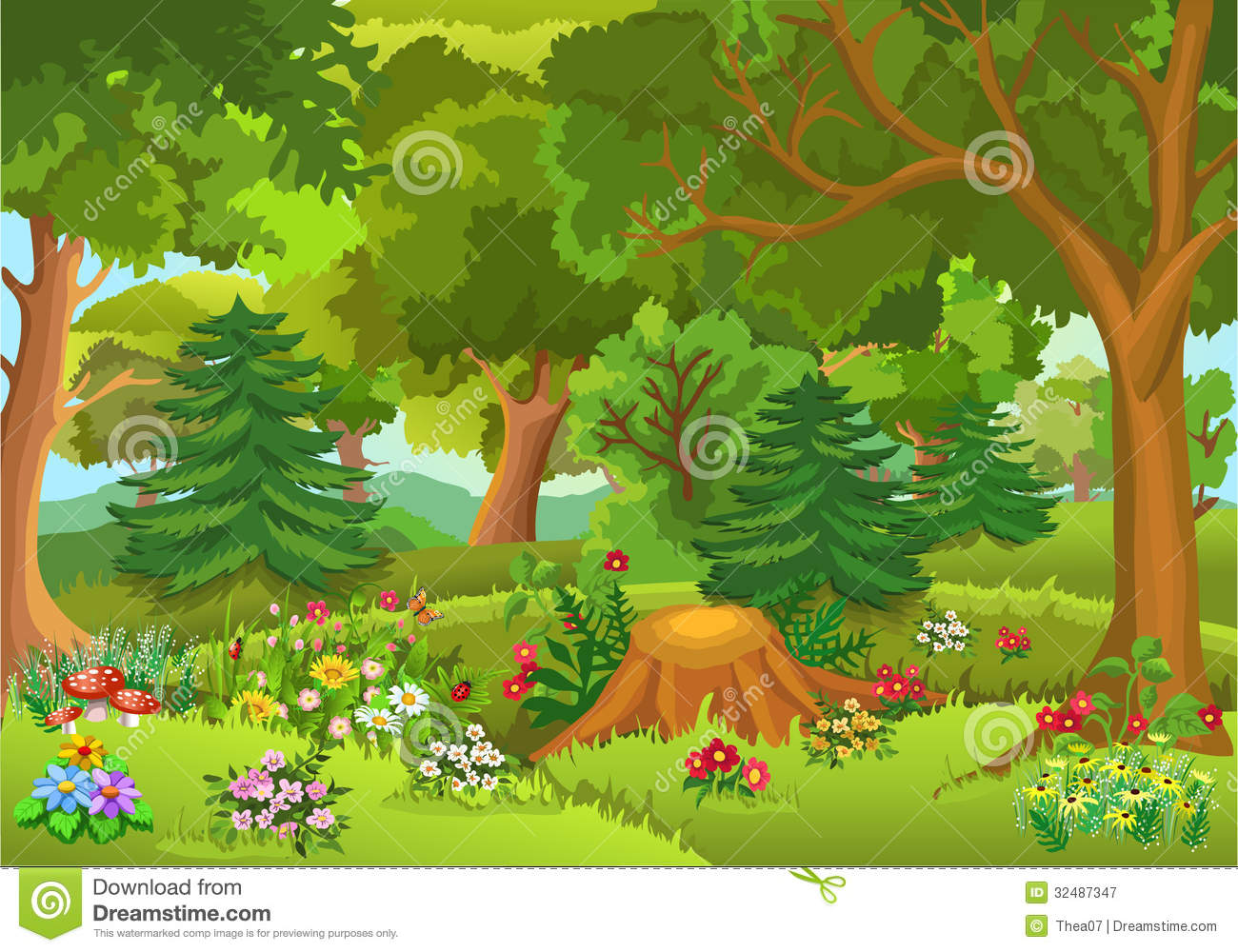 Forest clipart Forest Tale Clipart Download Tale