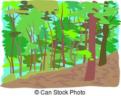 Forest clipart Art royalty woodland 154