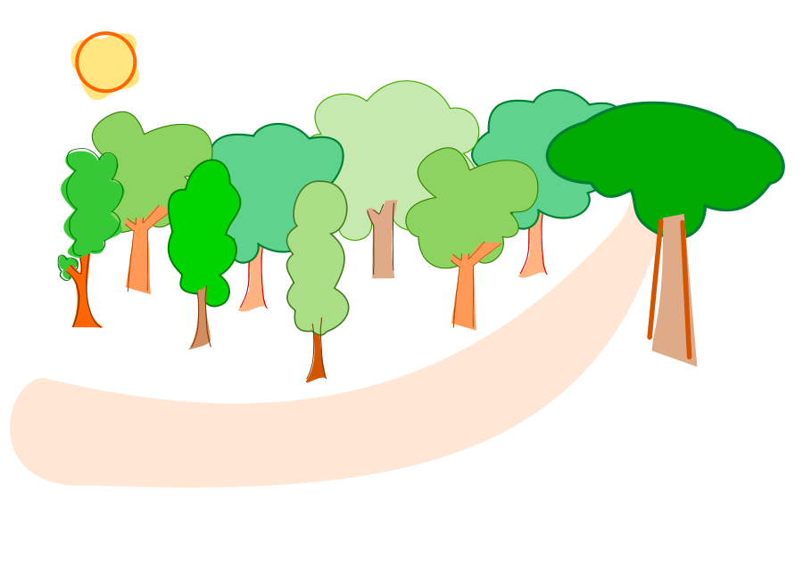 Forest clipart Clipartion #24153 com Forest #24153