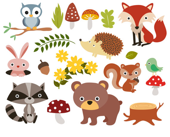 Zoo clipart forest animal For art art Baby Clipart