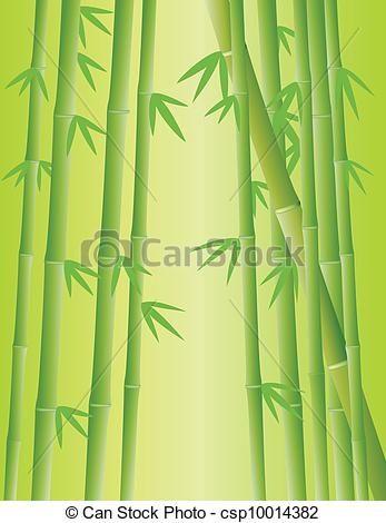 Forest clipart bamboo forest Vector of Vector illustration Bamboo