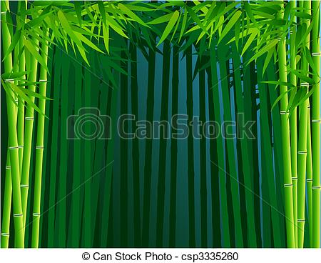 Forest clipart bamboo forest Bamboo Vector csp3335260 forest Bamboo