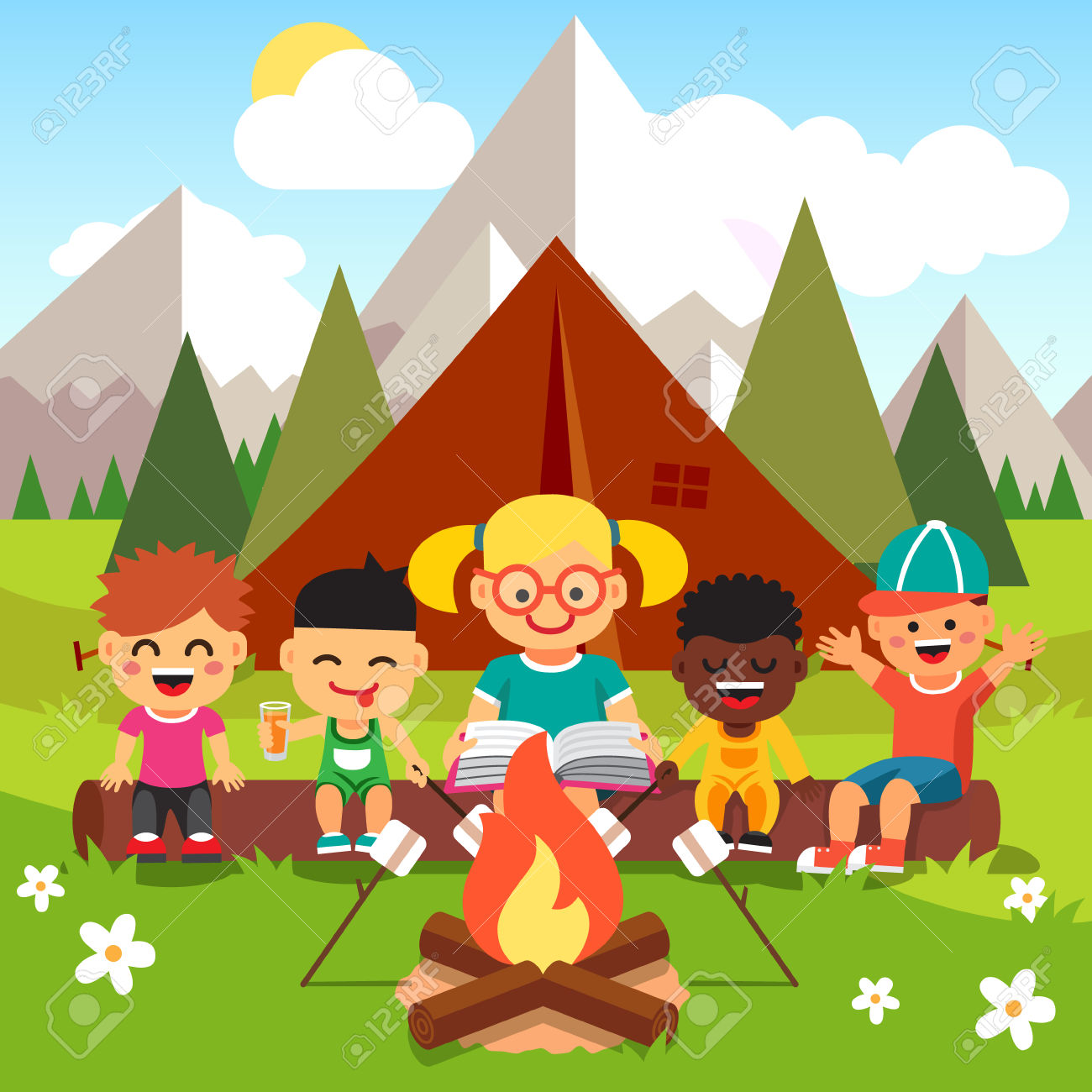 Marshmellow clipart big Free 1300x1300 with Child collection