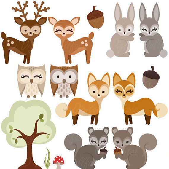 Wood clipart woodlands Squirrel item? Clipart Like this