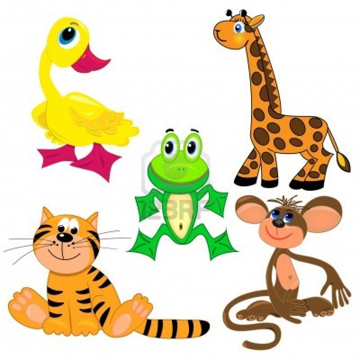Zoo clipart cute animal Large Free clipart for animals