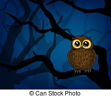 Night clipart night owl Forest the Art Clipart in