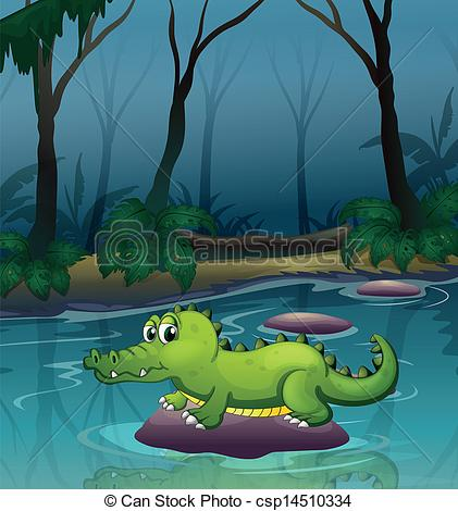 Forest clipart river drawing #10