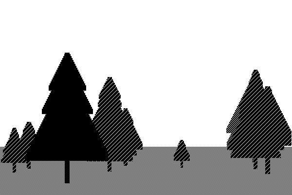 Forest clipart skyline Trees forest%20trees%20drawing Drawing Clipart Free