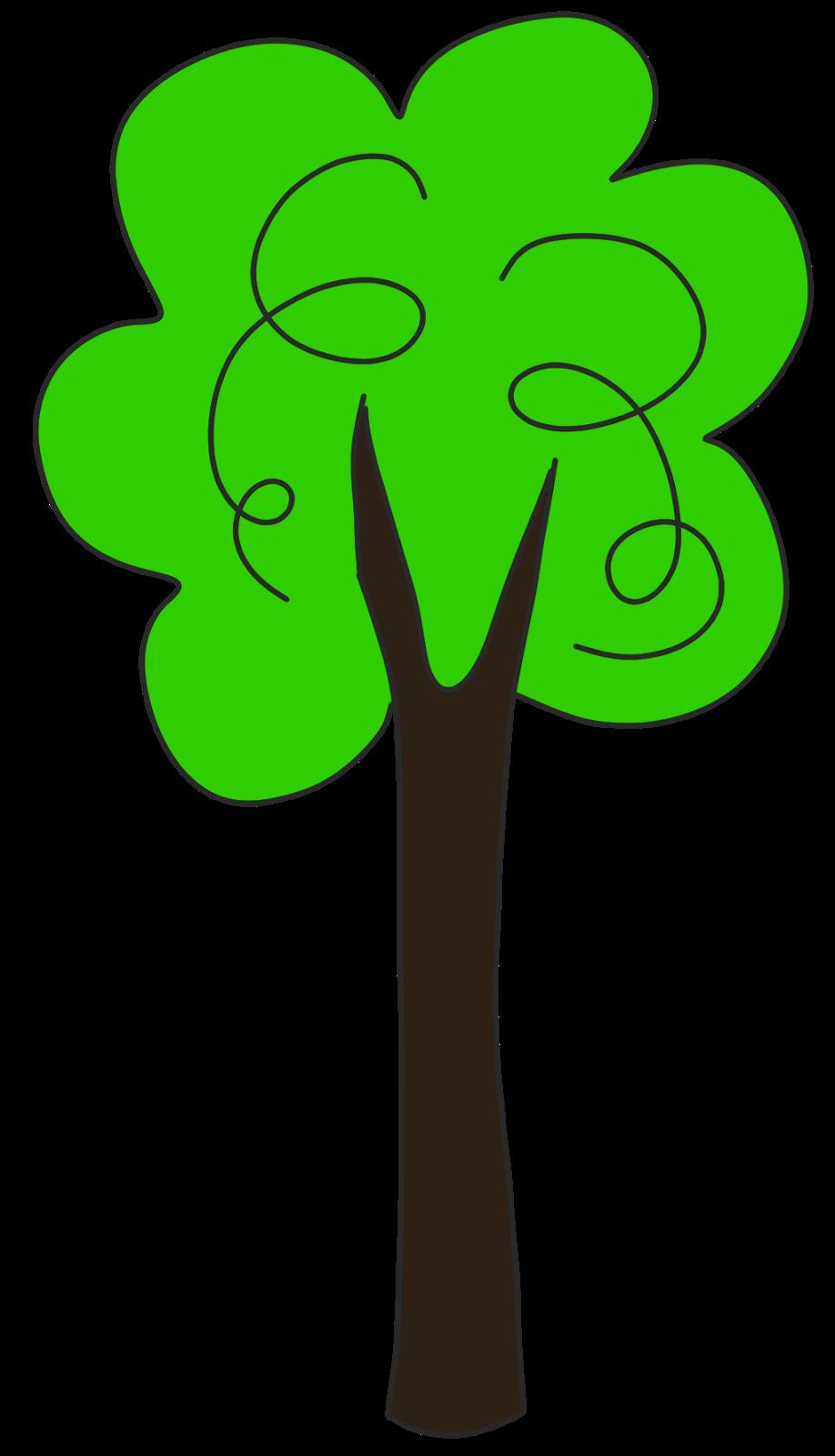 Tree clipart tall #2