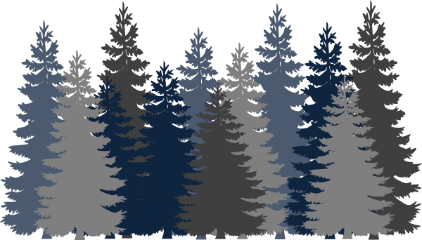 Pine clipart forest tree Tree as: Art image Navy