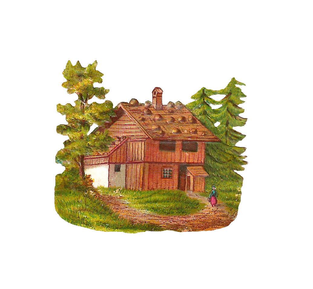 Hosue clipart woods Home — Forest Clipart #4821