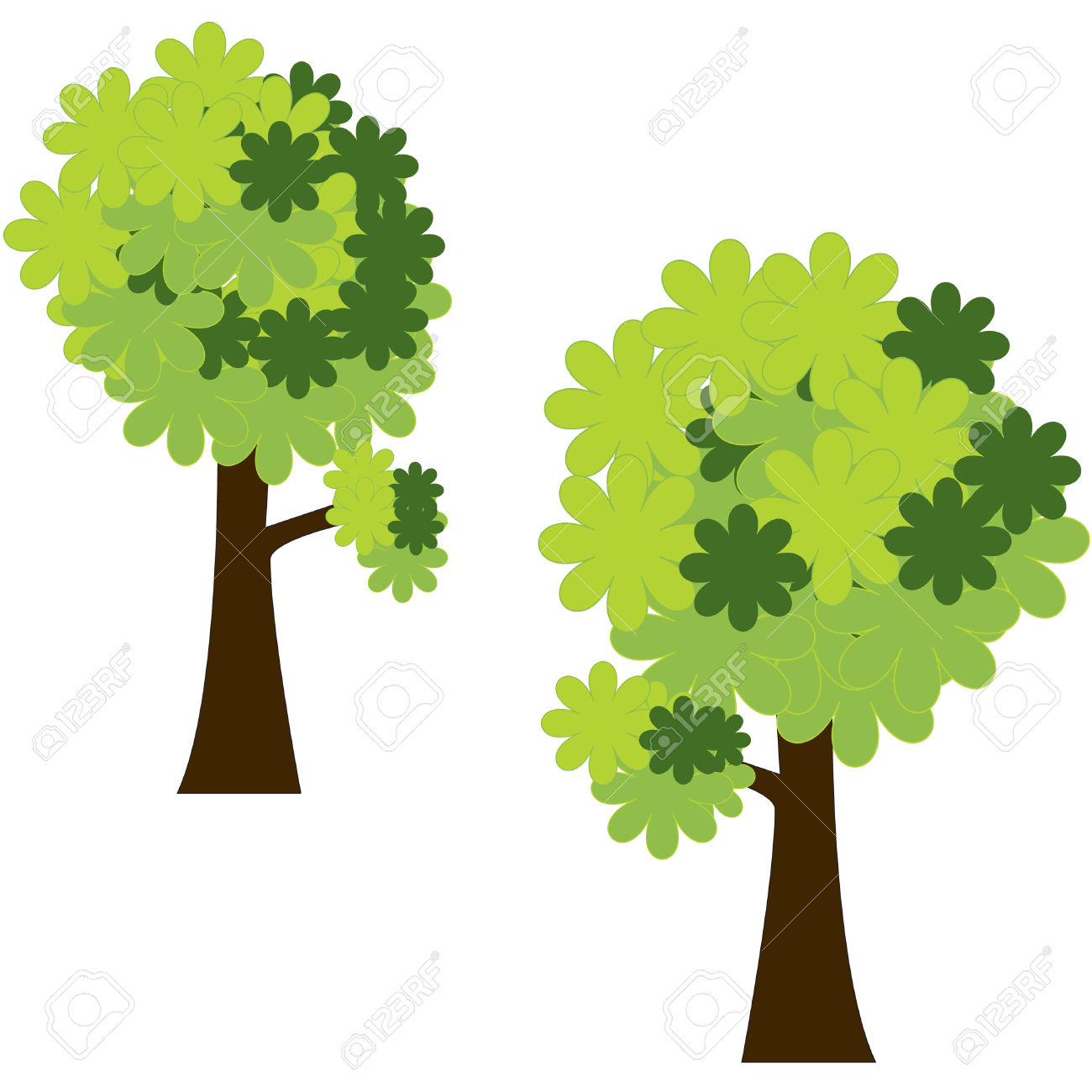 Tree clipart forest tree #5