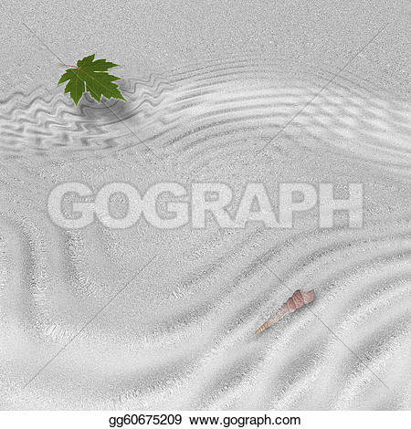 Forest clipart water stream Flow in Drawing leaf in