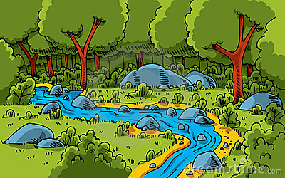 Forest clipart water stream Images Clipart Clipart forest%20clipart Stream