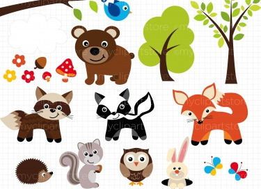 Wood clipart woodlands Art Free Woodland Clipart Clipart