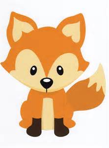 Baby Animal clipart woodland fox Wall Sly Forest Animal Kids