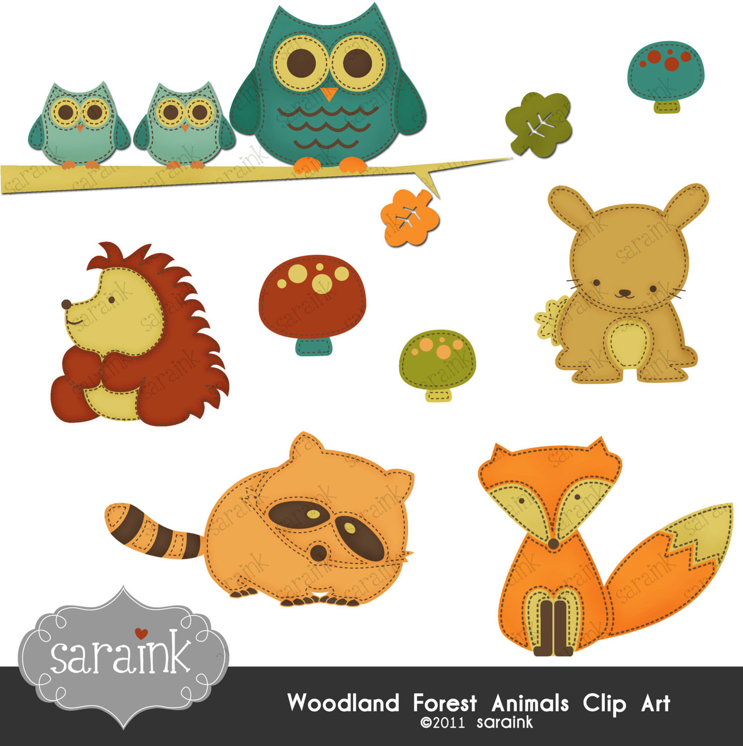 Hedgehog clipart forest animal Commercial Use Cute for Animals