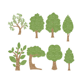 Wood clipart woodlands Woodland on Clipart Art Glitter