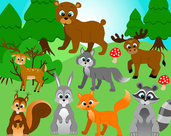 Baby Animal clipart wooden Forest%20clipart Panda Free Forest Clipart